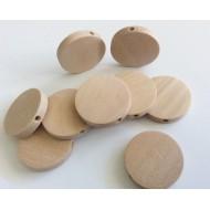 Perles palets en bois naturel x10