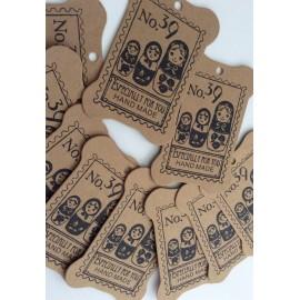 Cartes supports en carton