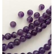 Perles Améthystes naturelles