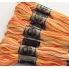 Fils à broder Variations Orange Citrouille