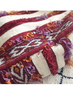 Bobines de fils en soie Prune
