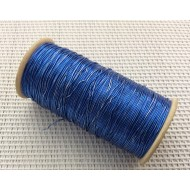 Bobine de fil scalli bleue