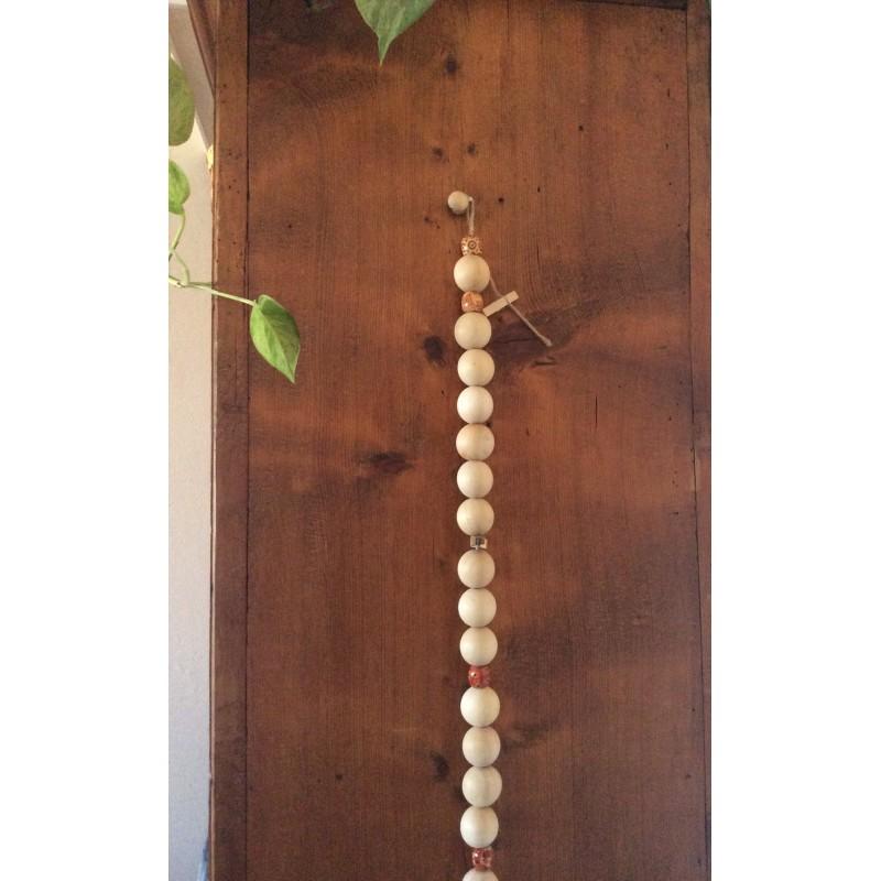 Box d co guirlande de perles 2000 couleurs for Guirlande bois deco