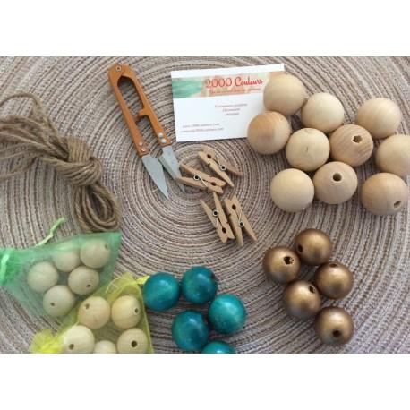 Box déco : Guirlande de perles