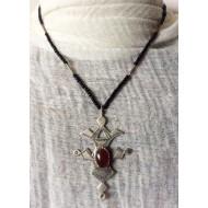Collier d'origine Touareg avec croix du Sud