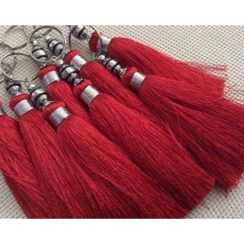 Pompon 14,5 cm de couleur Rouge